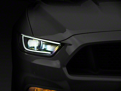 Raxiom LED Headlights (15-17 All; 2018 GT350)