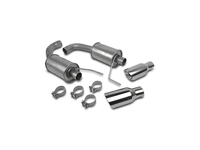 SLP Loudmouth LM-2 Axle-Back Exhaust (15-17 V6)