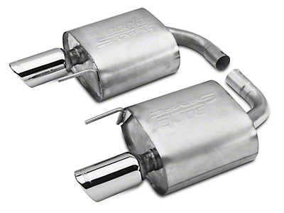Borla Stinger S-Type Axle-back Exhaust (15-18 EcoBoost Convertible, V6 Convertible)