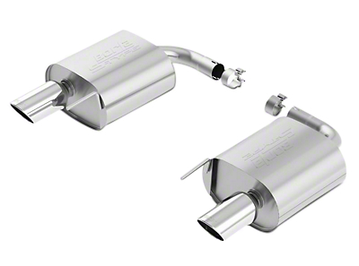 Borla Stinger S-Type Axle-Back Exhaust (15-17 EcoBoost)