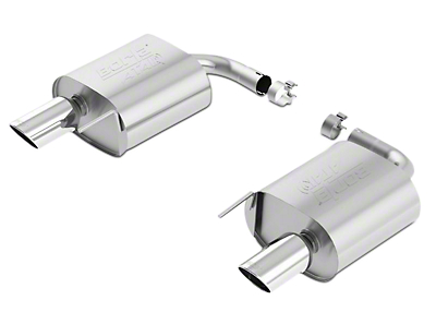 Borla ATAK Axle-Back Exhaust (15-17 EcoBoost)