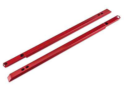 J&M IRS Support Jacking Rail - Red (15-18 All)