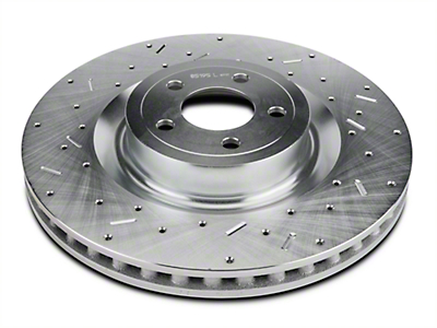 Xtreme Stop Precision Cross-Drilled & Slotted Rotors - Front Pair (15-18 GT w/ Performance Pack)