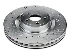 Xtreme Stop Precision Cross-Drilled & Slotted Rotors - Front Pair (15-20 GT w/ Performance Pack)