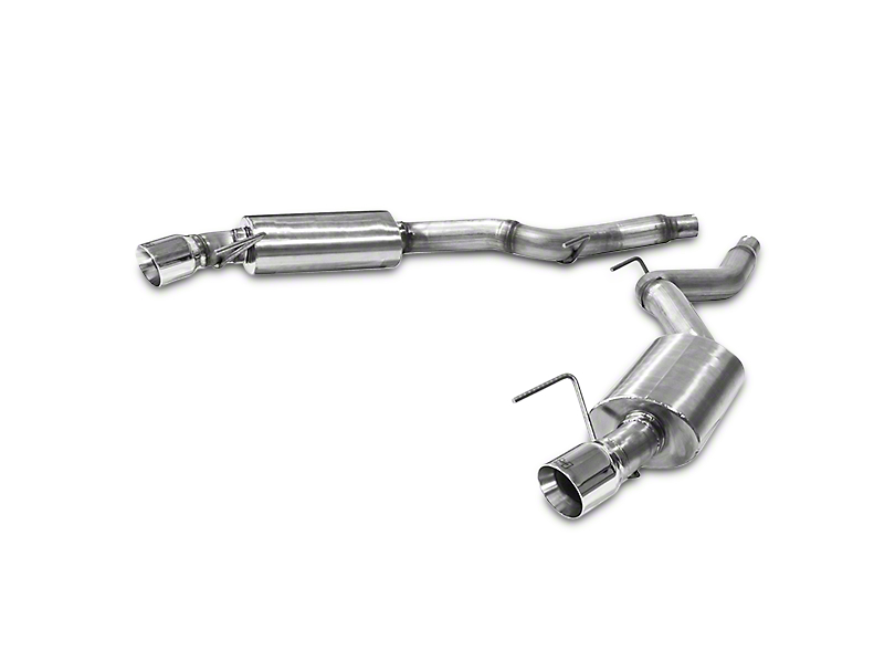Hurst Elite Series Axle-Back Exhaust (15-17 EcoBoost)
