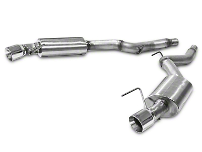 Hurst Elite Series Axle-Back Exhaust (15-18 EcoBoost)