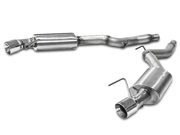 Hurst Elite Series Axle-Back Exhaust (15-17 V6)