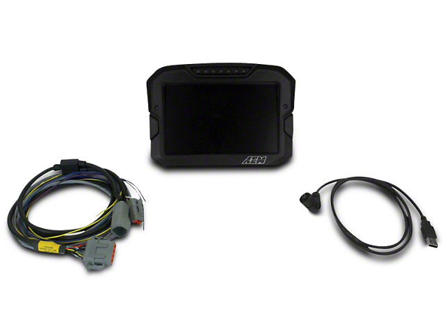 AEM Electronics CD-7 Digital CAN Input Racing Dash Display (79-18 All)
