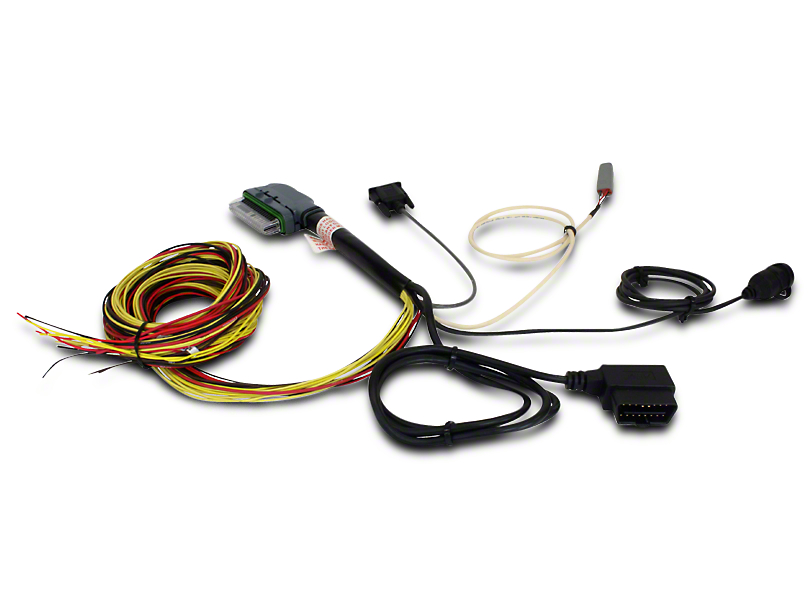 AEM Electronics 96 in. AQ1 OBDII Data Logger Wiring Harness (96-17 All)