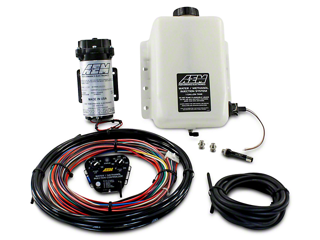 AEM Electronics V2 Water/Methanol Injection Kit for Forced Induction Engines; Standard Controller