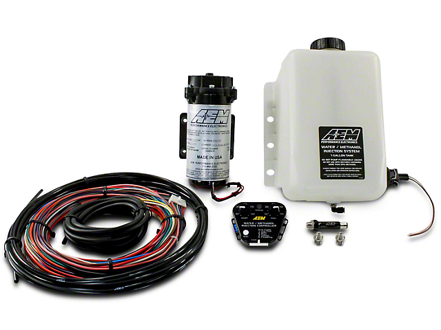 AEM Electronics V2 Water/Methanol Injection Kit for Force Induction Engines - Multi-Input Controller (79-18 All)