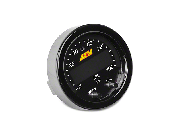 AEM Electronics X-Series Oil Pressure Gauge - Electrical (79-18 All)