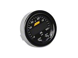 AEM Electronics X-Series Oil Pressure Gauge - Electrical (Universal Fitment)