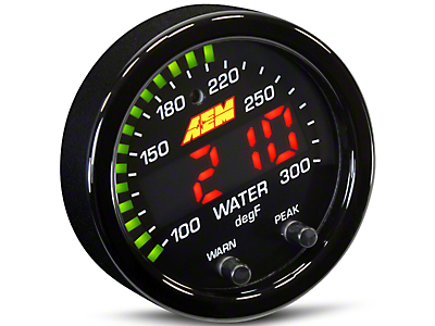 AEM Electronics X-Series Temperature Gauge - Electrical (79-18 All)