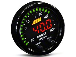 AEM Electronics X-Series Boost Pressure Gauge - Electrical (Universal Fitment)