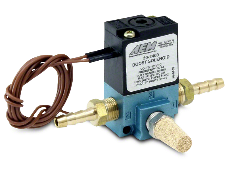 AEM Electronics Boost Control Solenoid Kit (79-17 All)
