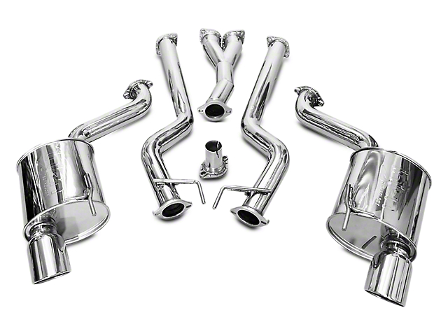 Injen Super SES Cat-Back Exhaust System (15-17 EcoBoost Fastback)