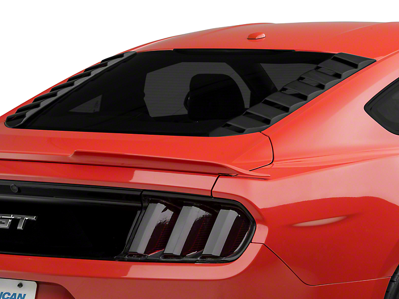 MP Concepts Sport Rear Window Louvers - Matte Black (15-19 All)