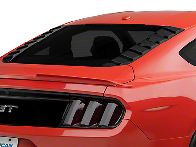 MP Concepts Sport Rear Window Louvers - Matte Black (15-18 All)