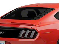 MP Concepts Sport Rear Window Louvers - Matte Black (15-20 Fastback)