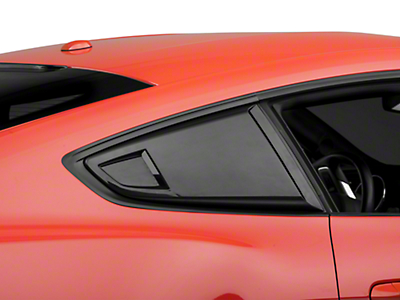 MP Concepts Quarter Window Scoops - Unpainted (15-18 Fastback)