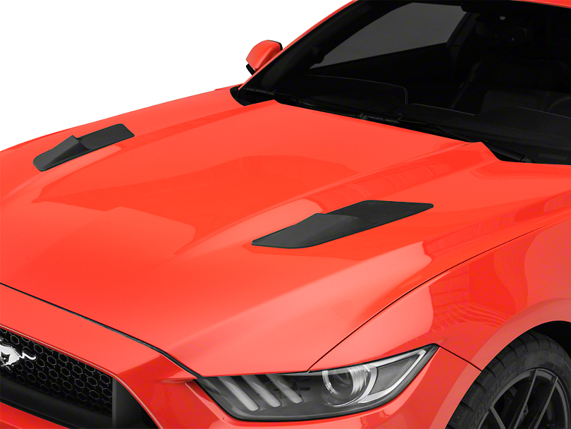 MP Concepts Hood Vent Louvers - Matte Black (15-17 EcoBoost, V6)