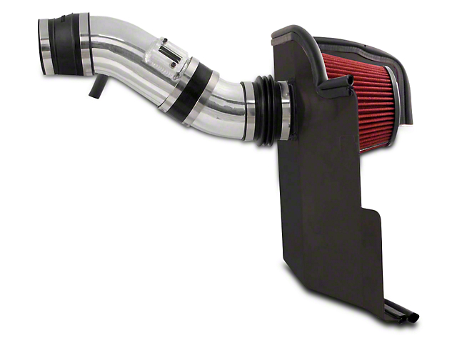 Spectre Performance Cold Air Intake; Polished (11-14 V6)