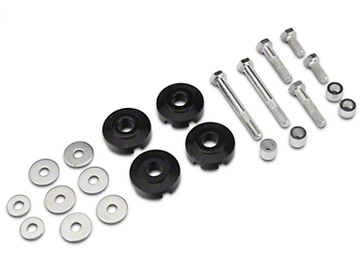 Whiteline Rear Differential to Subframe Bushing Insert Kit (15-18 All)