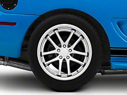 Rovos Cape Town Satin Silver Wheel - 18x10.5 - Rear Only (94-04 All)
