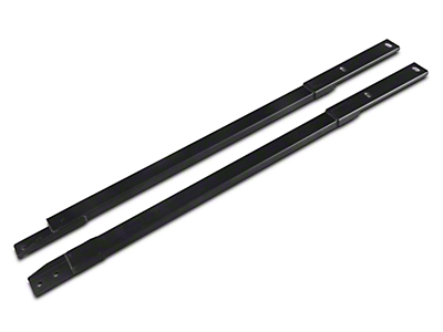 Steeda Ultra-Lite Low Profile Chassis Jacking Rails (15-19 Convertible)