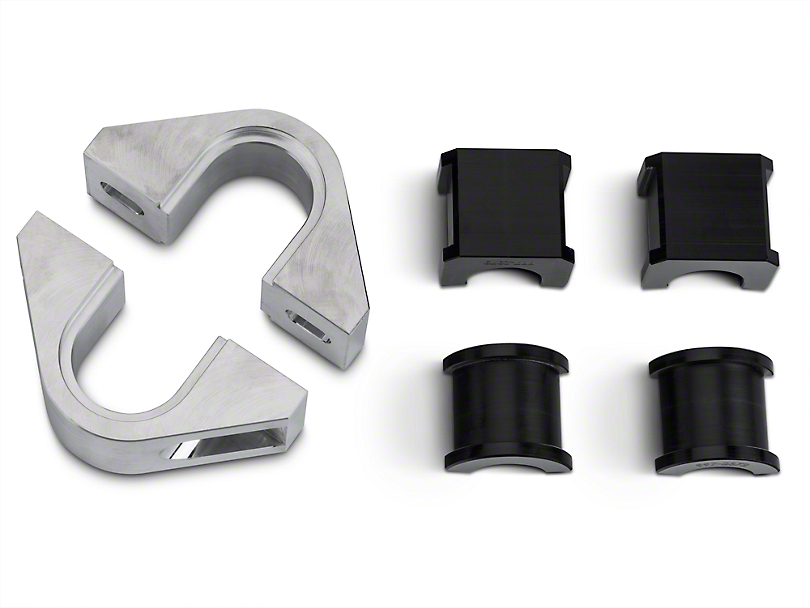 Steeda 1-1/8 in. Front Swaybar Mount Kit w/ Delrin Bushings (15-17 All)