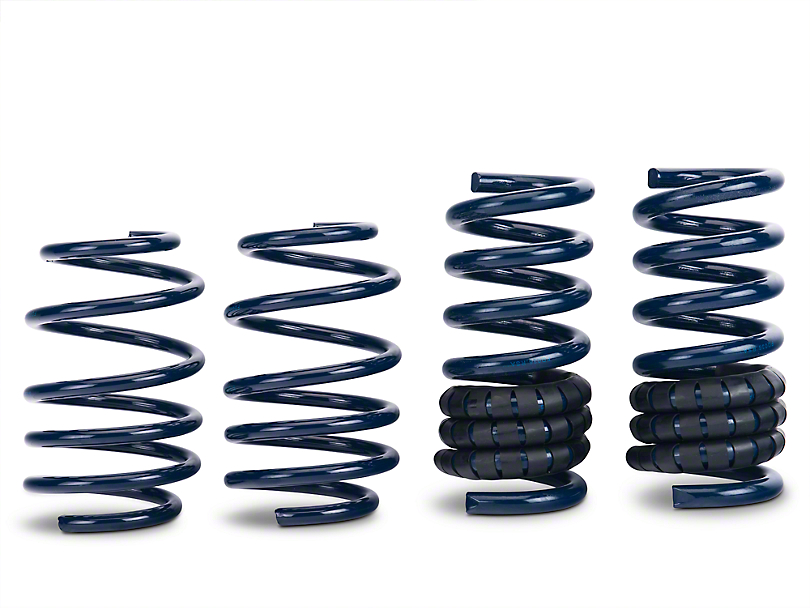 Steeda Competition Dual Rate Lowering Springs (15-19 GT, EcoBoost, V6 w/o MagneRide)