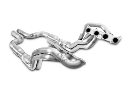 Stainless Works 1-7/8 in. Long Tube Catted Headers - Aftermarket Connect (15-17 GT)