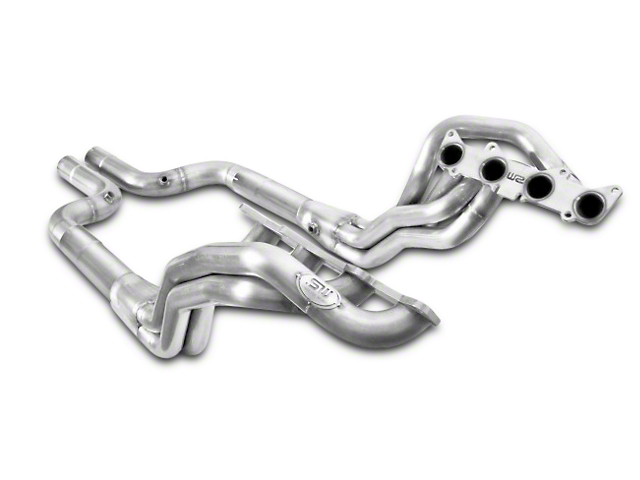 Stainless Works 1-7/8 in. Long Tube Off-Road Headers - Aftermarket Connect (15-17 GT)