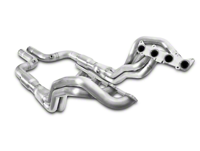 Stainless Power 1-7/8 in. Long Tube Catted Headers - Aftermarket Connect (15-18 GT)