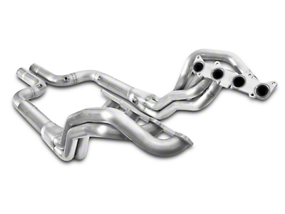 Stainless Power 1-7/8 in. Long Tube Off-Road Headers - Aftermarket Connect (15-18 GT)