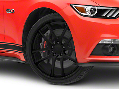 Rovos Cape Town Satin Black Wheel - 20x8.5 (15-19 GT, EcoBoost, V6)