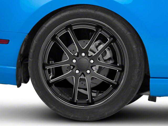 Rovos Cape Town Satin Black Wheel; Rear Only; 20x10 (10-14 All)