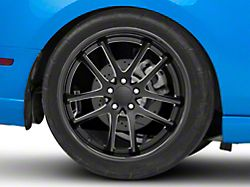 Rovos Cape Town Satin Black Wheel; Rear Only; 20x10 (10-14 All)