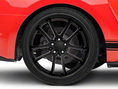 Rovos Cape Town Satin Black Wheel - 20x10 - Rear Only (15-19 GT, EcoBoost, V6)