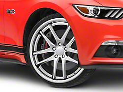 Rovos Cape Town Satin Silver Wheel - 20x8.5 +35mm Offset (15-19 GT, EcoBoost, V6)