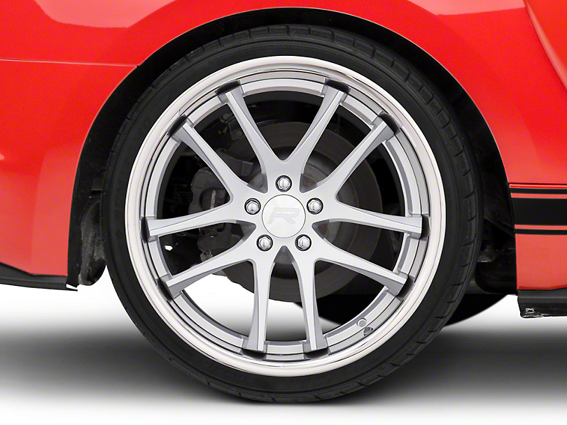 Rovos Cape Town Satin Silver Wheel - 20x10 - Rear Only (15-19 GT, EcoBoost, V6)