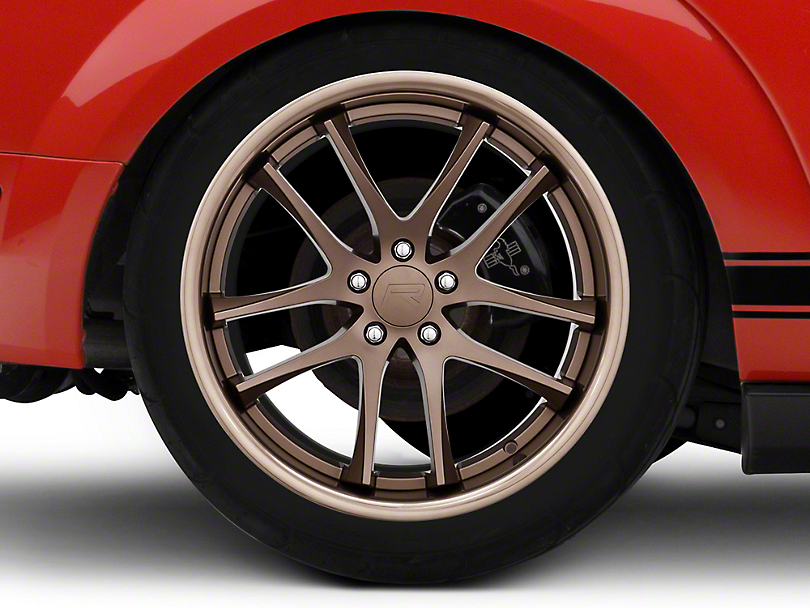 Rovos Cape Town Satin Bronze Wheel - 20x10 (05-14 All)