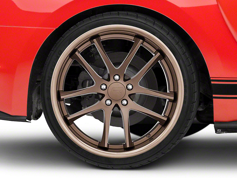 Rovos Cape Town Satin Bronze Wheel - 20x10 - Rear Only (15-19 GT, EcoBoost, V6)
