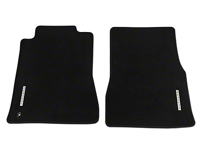 Ford Front Floor Mats w/ Mustang Logo - Black (05-09 All)