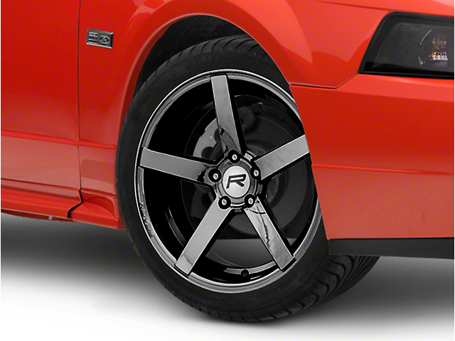 Rovos Durban Black Chrome Wheel; 18x9 (99-04 All)