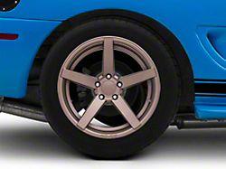 Rovos Durban Satin Bronze Wheel - 18x10.5 - Rear Only (94-04 All)