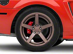Rovos Durban Satin Bronze Wheel; Rear Only; 18x10.5 (99-04 All)