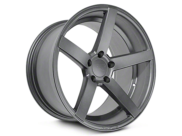 Rovos Durban Satin Gunmetal Wheel - 20x8.5 (15-17 GT, EcoBoost, V6)