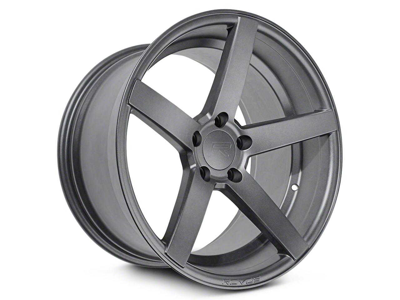 Rovos Durban Satin Gunmetal Wheel - 20x8.5 (15-18 GT, EcoBoost, V6)